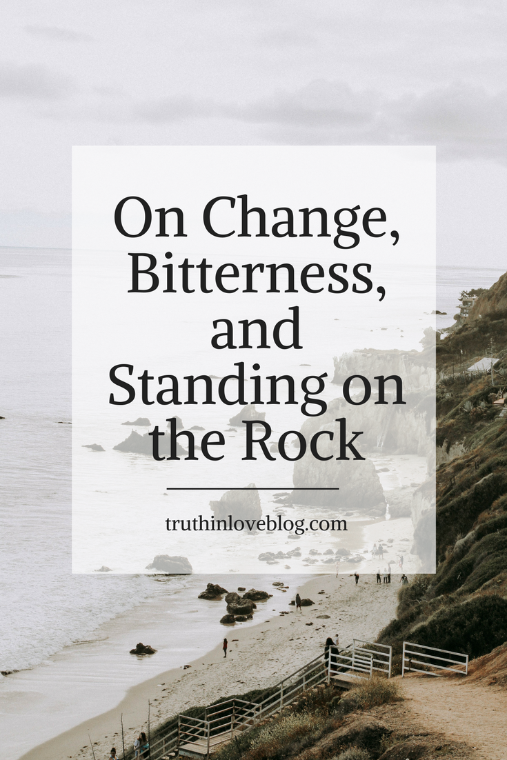 change bitterness rock pinterest